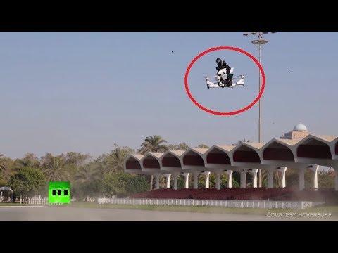 Полицајците во Дубаи ќе добијат летачки моторцикли