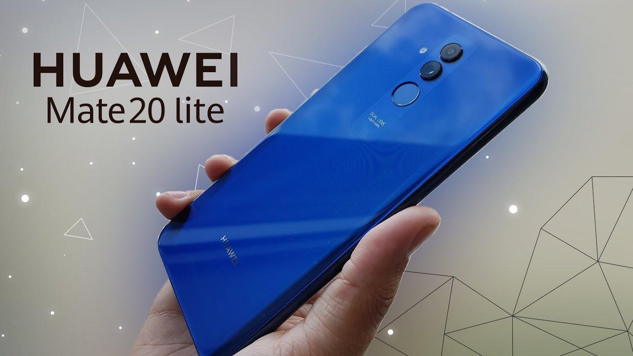 Видео Huawei Mate 20 lite Золотой