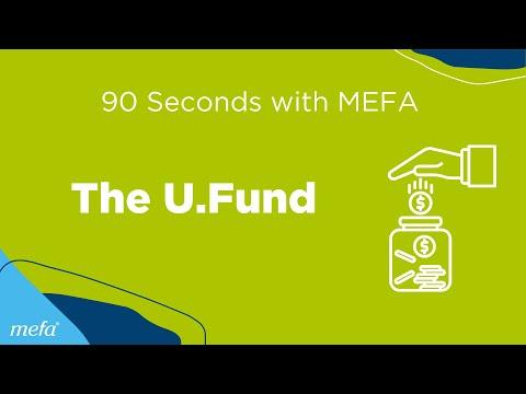 90 Seconds with MEFA: The U.Fund