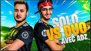 JE RUSH LES KILLS EN SOLO VS DUO AVEC ADZ !!! (TOP 1)