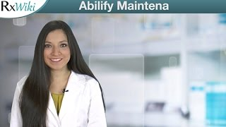 Abilify Maintena a Long-acting Prescription Medication Used to Treat Schizophrenia - Overview