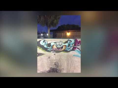 YMCA skate park in west palm beach