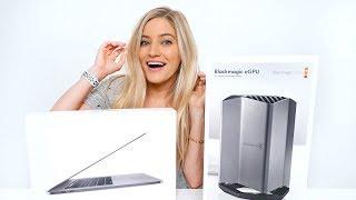 2018 MacBook Pro + Blackmagic eGPU Unboxing!