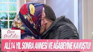 Ali, 14 Yıl Sonra Annesi Ve Ağabeyi Ile Kucaklaştı - Esra Erol'da 25 Ocak 2019