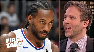 Max Kellerman's faith in Kawhi to beat out LeBron, Lakers for the title is unwavering | First Take