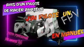J'ai volé en accro avec le drone DJI FPV ( test accro , tuto passage en mode M)