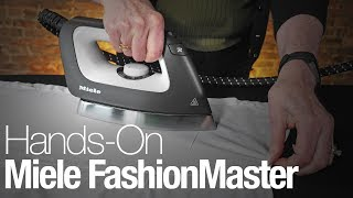 Hands-On with the Miele FashionMaster B3312 Ironing System