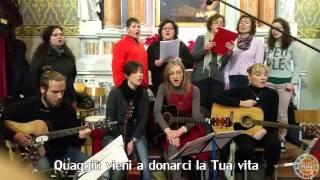 preview picture of video 'Chiesa Cormòns: Coro dei giovani: Alleluja'