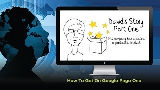 How To Get On Google Page One - David's Story Part 1