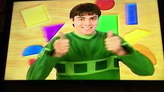 Opening To Blues Clues: Classic Clues 2004 VHS
