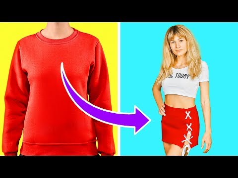 99 CLOTHES HACKS AND TRICKS || UPGRADE YOUR WARDROBE
