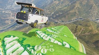 LA RAMPA MAS PELIGROSA DEL MUNDO - CARRERA GTA V ONLINE - GTA 5 ONLINE