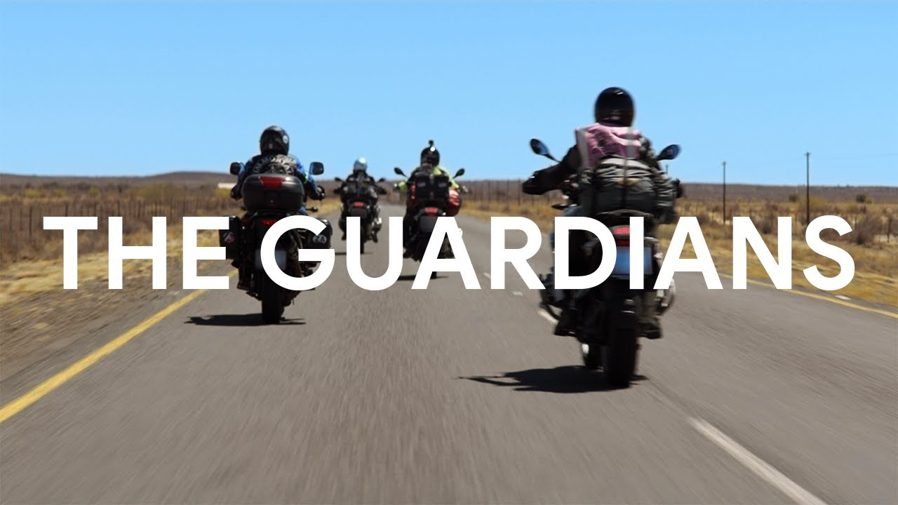Video showing women riding motorcycles across the world.