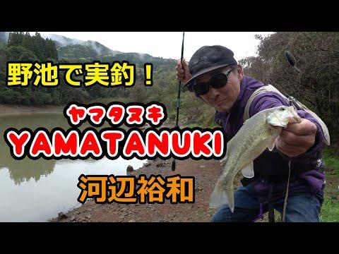 河辺裕和がヤマタヌキでオカッパリ ~熊本・野池編~