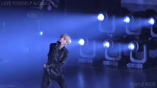 181123 BTS 방탄소년단 FAKE LOVE Japanese V 뷔 Focus (4K) @ LOVE YOURSELF IN OSAKA