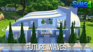 The Sims 4 - House Building - Future Waves
