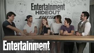 Itv du cast avec EW