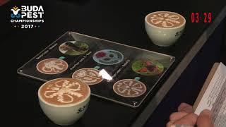 Michalis Karagiannis World Latte Art Championship 2017 Final