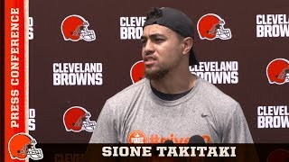 "Sione Takitaki ""I'm going to keep pushing until I get where I want to be"" 