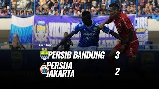 Video Saling Balas Gol Persib Vs Persija 3-2