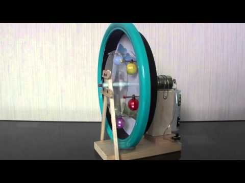 おもしろ科学工作「時計のギア de 観覧車」
