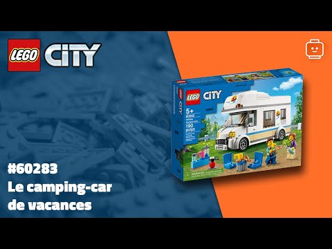 Vidéo LEGO City 60283 : Le camping-car de vacances