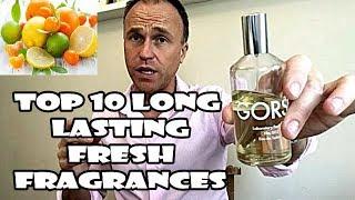 Top 10 Long Lasting Fresh Fragrances For Men - Fragrance Review - Best Mens Fragrances