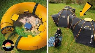 10 najciekawszych namiotów campingowych