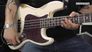 Fender Flea Jazz Bass - Red Hot Chili Peppers Bass Review von session