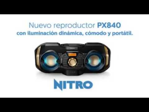 Reproductor de CD Philips PX840T/77