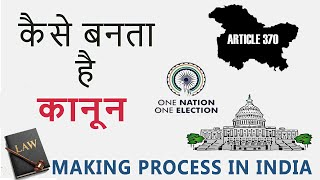 How A Law Is Made   Law Making Process In India   Hindi