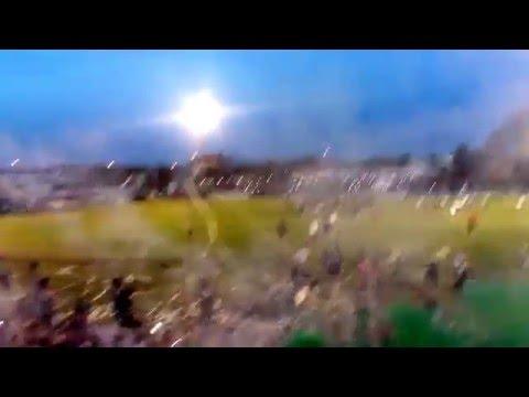 """""""Villa Mitre campeón 2015 recibimiento"""" Barra: La Gloriosa • Club: Villa Mitre"""