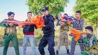 Nerf War: Soldiers Sniper Nerf Guns Terminator Group Captain America CIVIL NERF