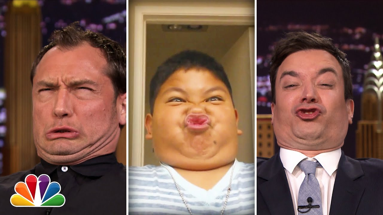 Tonight Show Funny Face Off with Jude Law thumbnail