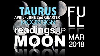 Taurus Moon Sign 2nd Quarter 2018 Reading