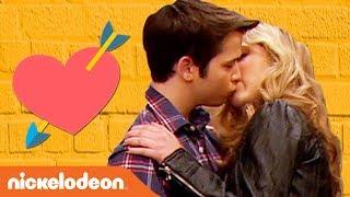 Sam & Freddie's First & Last Kisses 😘 | iCarly | #TBT