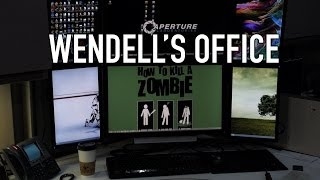 Wendell's Office Tour - The Ultimate Nerd Compound