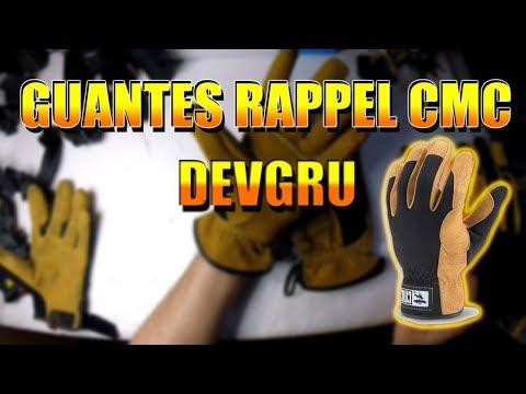 GUANTES  RAPPEL CMC (SALVAMENTO-DEVGRU) UNBOXING-REVISION