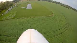 Sunset FPV flight