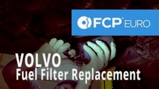 Volvo Fuel Filter Replacement (850 Turbo)