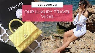 JOIN US! Luxury Travel, Chanel Handbags & Champagne | Crete Vlog | Sophie Shohet