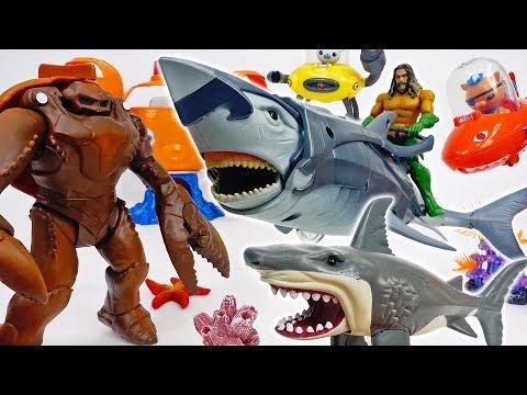 Aquaman Needs A Warrior Shark~! Octonauts, Help Him~! - ToyMart TV