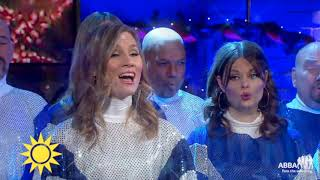 Happy New Year 2019!!!!!  ABBA The Museum Choir singing!