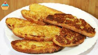 Смотреть онлайн Рецепт горячего жареного бутерброда с тертой картошкой