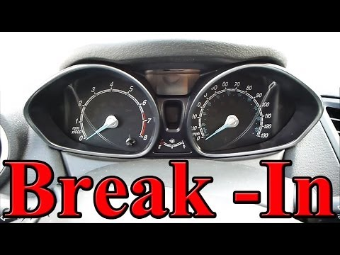 How to Break In A New Engine (Brand New Car)!