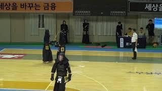 2019 단별검도대회 남자 3단부 64강 - 김계민 vs 김영준 [검도V] kendov