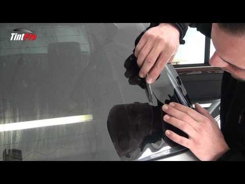 Tint pro raamfolie video blinderen van autoruiten