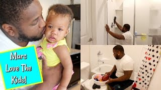 DAD CLEANS ENTIRE HOUSE || ULTIMATE CLEAN WITH ME || DAD'S DAY OFF #5