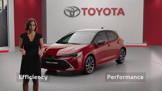 YouTube Video Fm-UEwltLTQ for Product Toyota Corolla Hatchback, Sedan, & Touring Sports (12th gen, E210) by Company Toyota Motor in Industry Cars