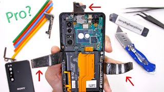 Sony Xperia Pro Teardown - Business on the outside, Party on the inside